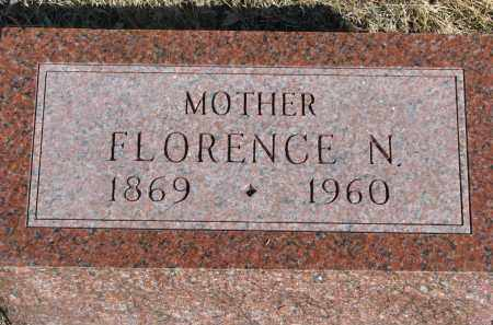 ROBINSON, FLORENCE N. - Cedar County, Nebraska | FLORENCE N. ROBINSON - Nebraska Gravestone Photos