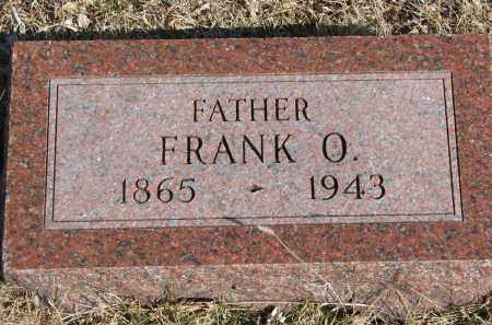 ROBINSON, FRANK O. - Cedar County, Nebraska | FRANK O. ROBINSON - Nebraska Gravestone Photos