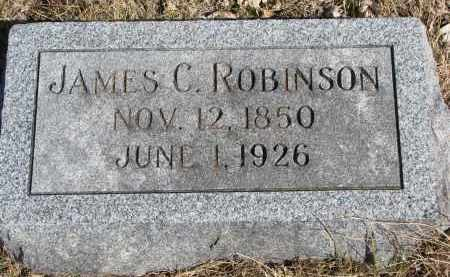 ROBINSON, JAMES C. - Cedar County, Nebraska | JAMES C. ROBINSON - Nebraska Gravestone Photos