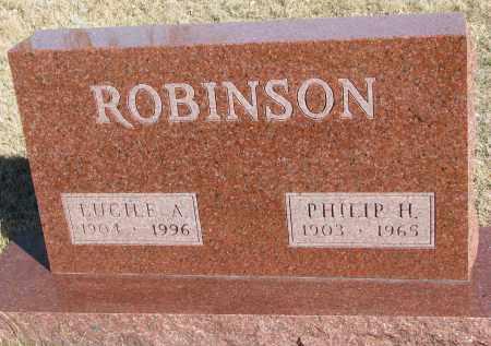 ROBINSON, PHILIP H. - Cedar County, Nebraska | PHILIP H. ROBINSON - Nebraska Gravestone Photos