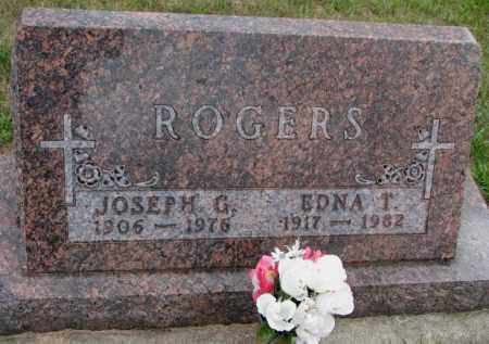 ROGERS, JOSEPH G. - Cedar County, Nebraska | JOSEPH G. ROGERS - Nebraska Gravestone Photos