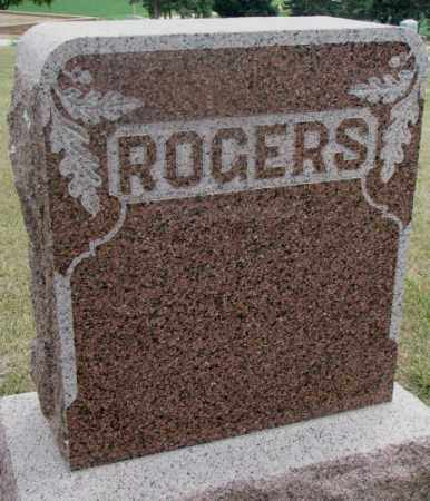 ROGERS, PLOT - Cedar County, Nebraska | PLOT ROGERS - Nebraska Gravestone Photos