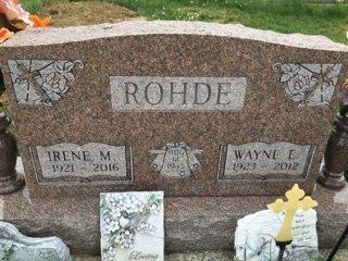 ROHDE, WAYNE ELDON - Cedar County, Nebraska | WAYNE ELDON ROHDE - Nebraska Gravestone Photos