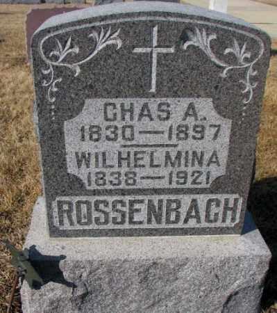 ROSSENBACH, CHAS. A. - Cedar County, Nebraska | CHAS. A. ROSSENBACH - Nebraska Gravestone Photos