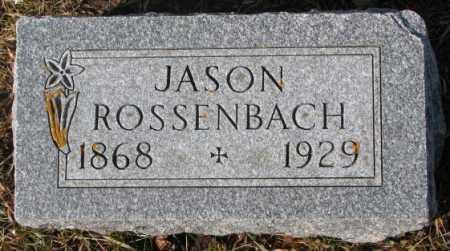 ROSSENBACH, JASON - Cedar County, Nebraska   JASON ROSSENBACH - Nebraska Gravestone Photos