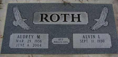 ROTH, ALVIN L. - Cedar County, Nebraska   ALVIN L. ROTH - Nebraska Gravestone Photos