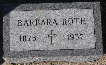 ROTH, BARBARA - Cedar County, Nebraska | BARBARA ROTH - Nebraska Gravestone Photos