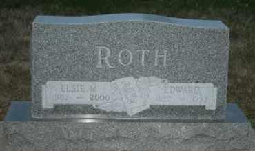 ROTH, ELSIE M - Cedar County, Nebraska | ELSIE M ROTH - Nebraska Gravestone Photos