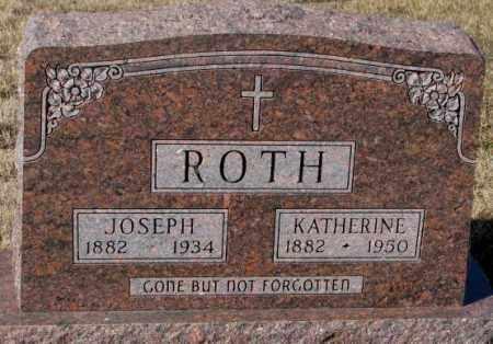 ROTH, JOSEPH - Cedar County, Nebraska | JOSEPH ROTH - Nebraska Gravestone Photos