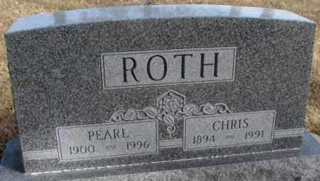 ROTH, CHRIS - Cedar County, Nebraska | CHRIS ROTH - Nebraska Gravestone Photos