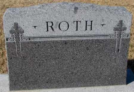 ROTH, PLOT - Cedar County, Nebraska | PLOT ROTH - Nebraska Gravestone Photos