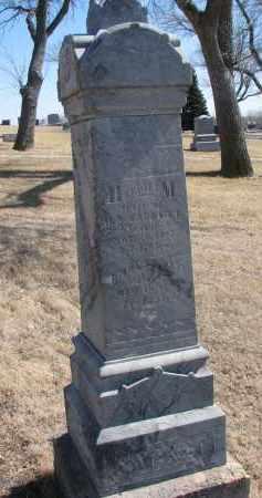 SACKETT, EMMA - Cedar County, Nebraska | EMMA SACKETT - Nebraska Gravestone Photos