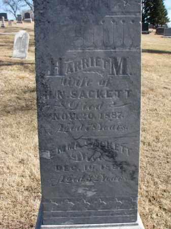 SACKETT, EMMA (CLOSEUP) - Cedar County, Nebraska | EMMA (CLOSEUP) SACKETT - Nebraska Gravestone Photos