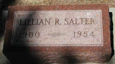SALTER, LILLIAN R. - Cedar County, Nebraska | LILLIAN R. SALTER - Nebraska Gravestone Photos
