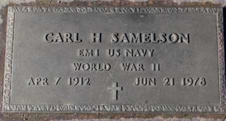SAMELSON, CARL H. (WW II) - Cedar County, Nebraska | CARL H. (WW II) SAMELSON - Nebraska Gravestone Photos