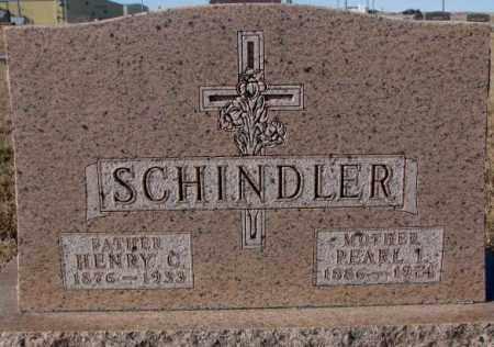 SCHINDLER, HENRY C. - Cedar County, Nebraska | HENRY C. SCHINDLER - Nebraska Gravestone Photos
