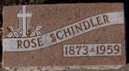 SCHINDLER, ROSE - Cedar County, Nebraska | ROSE SCHINDLER - Nebraska Gravestone Photos