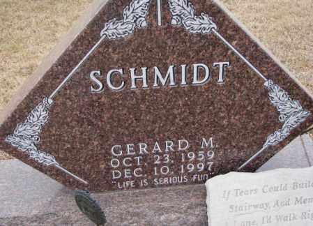 SCHMIDT, GERARD M. - Cedar County, Nebraska | GERARD M. SCHMIDT - Nebraska Gravestone Photos