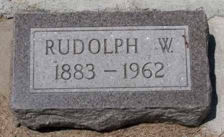 SCHMIDT, RUDOLPH W. - Cedar County, Nebraska | RUDOLPH W. SCHMIDT - Nebraska Gravestone Photos