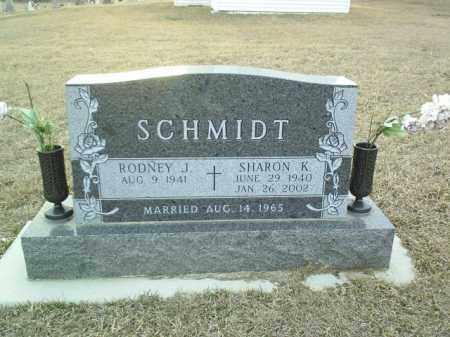 SCHMIDT, SHARON - Cedar County, Nebraska | SHARON SCHMIDT - Nebraska Gravestone Photos