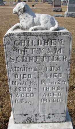 SCHNETTLER, IDA - Cedar County, Nebraska   IDA SCHNETTLER - Nebraska Gravestone Photos
