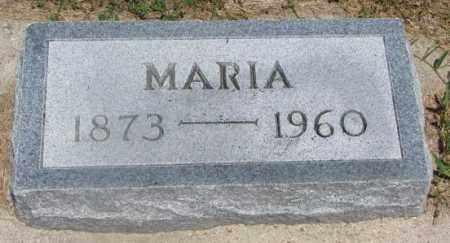 SCHOMBERG, MARIA - Cedar County, Nebraska   MARIA SCHOMBERG - Nebraska Gravestone Photos
