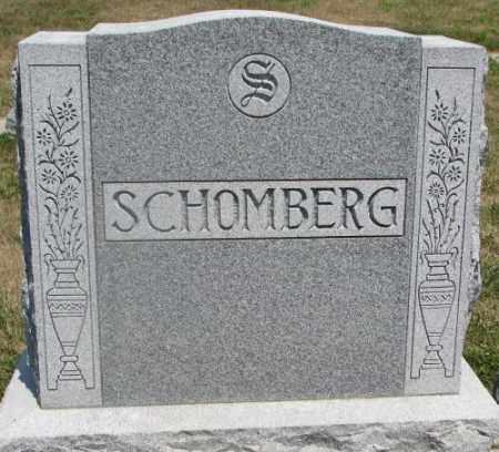 SCHOMBERG, PLOT - Cedar County, Nebraska | PLOT SCHOMBERG - Nebraska Gravestone Photos