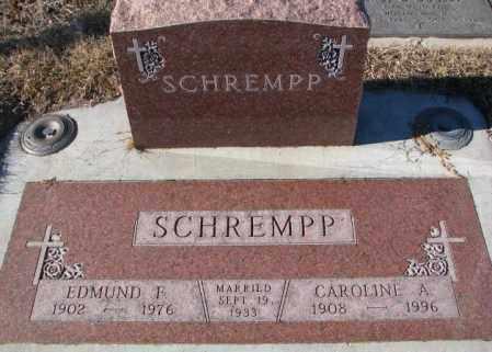 SCHREMPP, EDMUND F. - Cedar County, Nebraska   EDMUND F. SCHREMPP - Nebraska Gravestone Photos