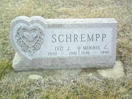 SCHREMPP, IVO J. - Cedar County, Nebraska | IVO J. SCHREMPP - Nebraska Gravestone Photos