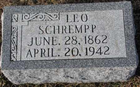 SCHREMPP, LEO - Cedar County, Nebraska | LEO SCHREMPP - Nebraska Gravestone Photos