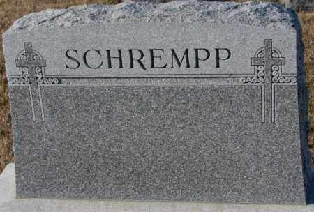 SCHREMPP, PLOT - Cedar County, Nebraska | PLOT SCHREMPP - Nebraska Gravestone Photos