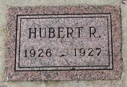 SCHULTE, HUBERT R. - Cedar County, Nebraska   HUBERT R. SCHULTE - Nebraska Gravestone Photos