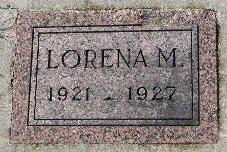 SCHULTE, LORENA M. - Cedar County, Nebraska | LORENA M. SCHULTE - Nebraska Gravestone Photos