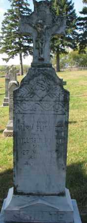 SCHULTE, MARIA ELISABETH - Cedar County, Nebraska | MARIA ELISABETH SCHULTE - Nebraska Gravestone Photos