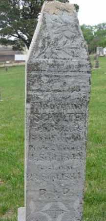 SCHULTE, MARGRETHA - Cedar County, Nebraska   MARGRETHA SCHULTE - Nebraska Gravestone Photos