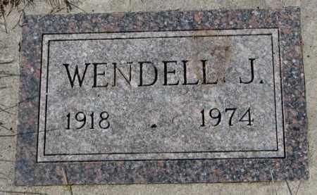SCHULTE, WENDELL J. - Cedar County, Nebraska | WENDELL J. SCHULTE - Nebraska Gravestone Photos