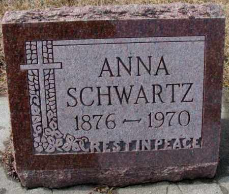 SCHWARTZ, ANNA - Cedar County, Nebraska | ANNA SCHWARTZ - Nebraska Gravestone Photos