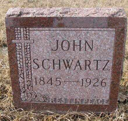 SCHWARTZ, JOHN - Cedar County, Nebraska   JOHN SCHWARTZ - Nebraska Gravestone Photos