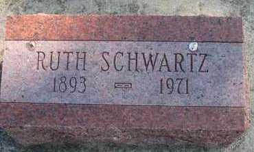 SCHWARTZ, RUTH - Cedar County, Nebraska   RUTH SCHWARTZ - Nebraska Gravestone Photos