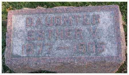 SCHWERIN, ESTHER V. - Cedar County, Nebraska | ESTHER V. SCHWERIN - Nebraska Gravestone Photos