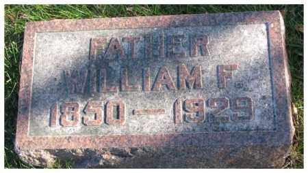 SCHWERIN, WILLIAM F. - Cedar County, Nebraska | WILLIAM F. SCHWERIN - Nebraska Gravestone Photos