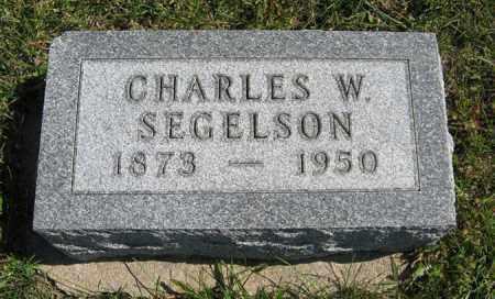SEGELSON, CHARLES W. - Cedar County, Nebraska   CHARLES W. SEGELSON - Nebraska Gravestone Photos