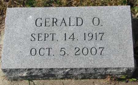 SEIM, GERALD O. - Cedar County, Nebraska   GERALD O. SEIM - Nebraska Gravestone Photos