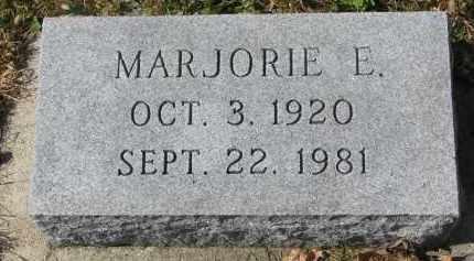 SEIM, MARJORIE E. - Cedar County, Nebraska | MARJORIE E. SEIM - Nebraska Gravestone Photos