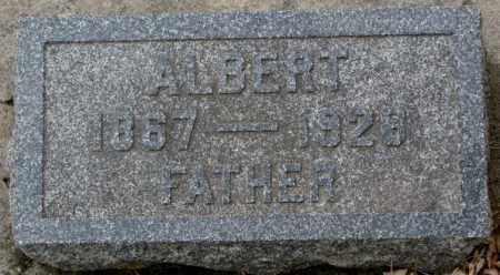 SELLENTIN, ALBERT - Cedar County, Nebraska | ALBERT SELLENTIN - Nebraska Gravestone Photos