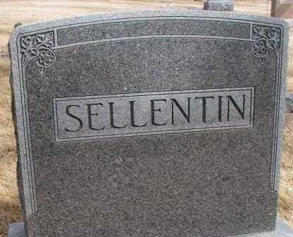 SELLENTIN, PLOT - Cedar County, Nebraska | PLOT SELLENTIN - Nebraska Gravestone Photos