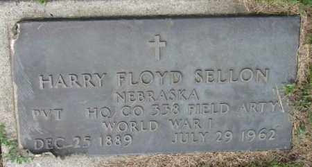 SELLON, HARRY FLOYD (WW I) - Cedar County, Nebraska | HARRY FLOYD (WW I) SELLON - Nebraska Gravestone Photos