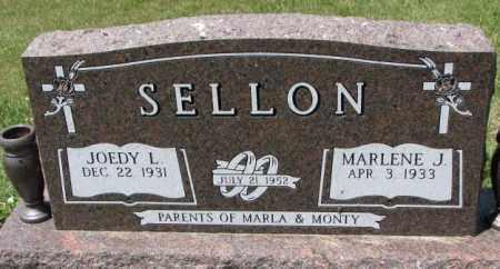 SELLON, MARLENE J. - Cedar County, Nebraska | MARLENE J. SELLON - Nebraska Gravestone Photos