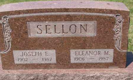 SELLON, ELEANOR M. - Cedar County, Nebraska | ELEANOR M. SELLON - Nebraska Gravestone Photos