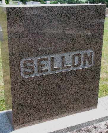 SELLON, PLOT - Cedar County, Nebraska | PLOT SELLON - Nebraska Gravestone Photos